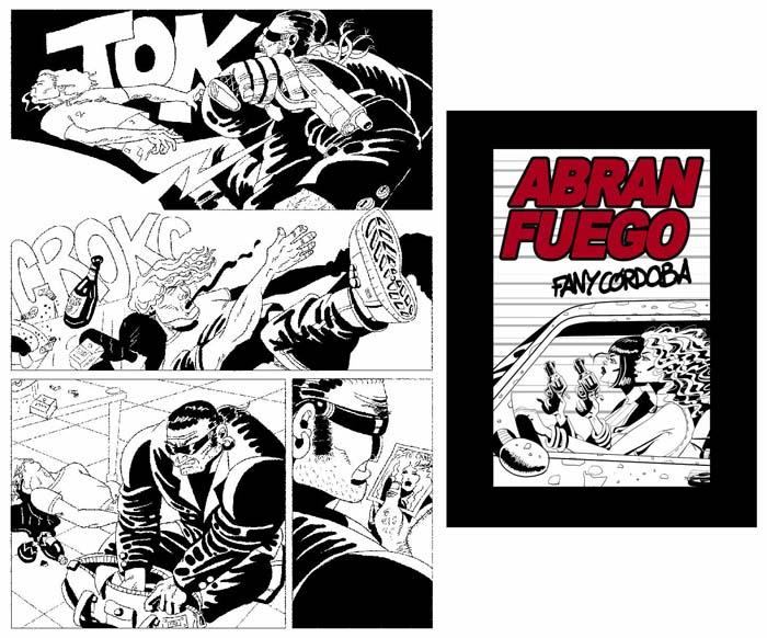 Cubierta del cómic-book Abran Fuego