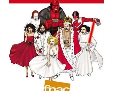 Ilustraciones Campaña FNAC