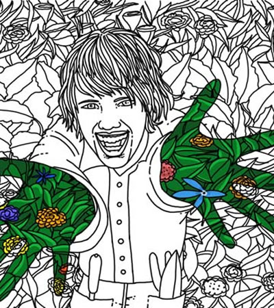 Jardiner a ilustradora madrid dibujante freelance - Trabajo jardineria madrid ...