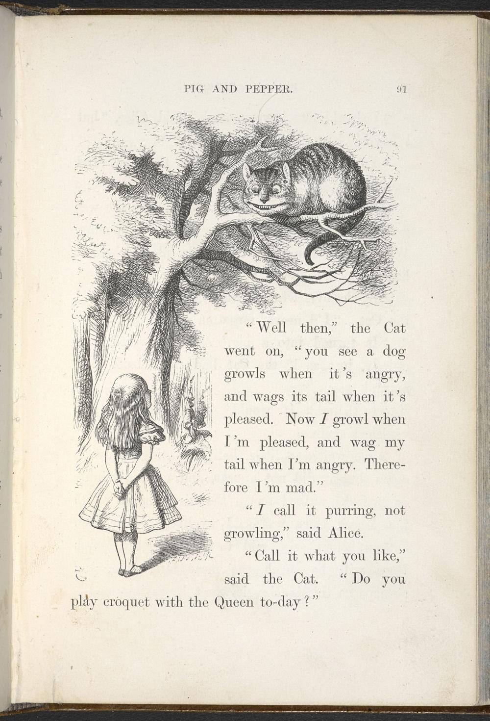 ilustracion alicia en el pais de las maravillas 3