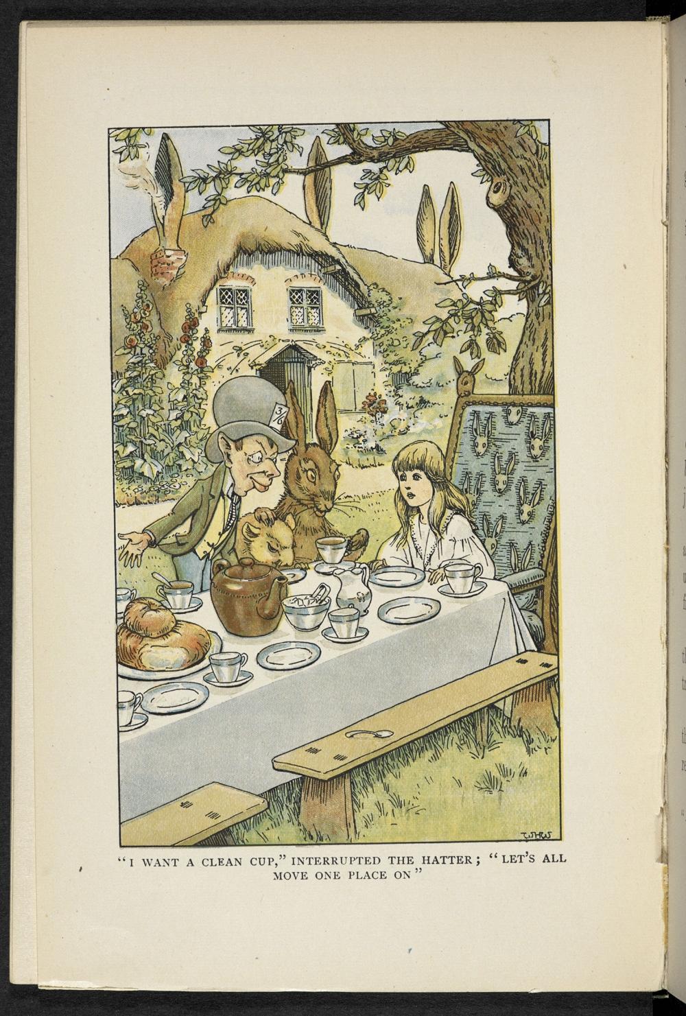 ilustracion alicia en el pais de las maravillas 5