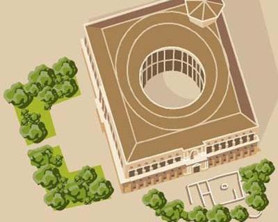 Plano de La Alhambra