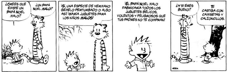 Un mundo magico, Calvin y Hobbes