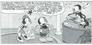 Los vacíos bolsillos del protagonista de Bucky Bug (1934) delatan con elocuencia su ruina. © Walt Disney Prod.