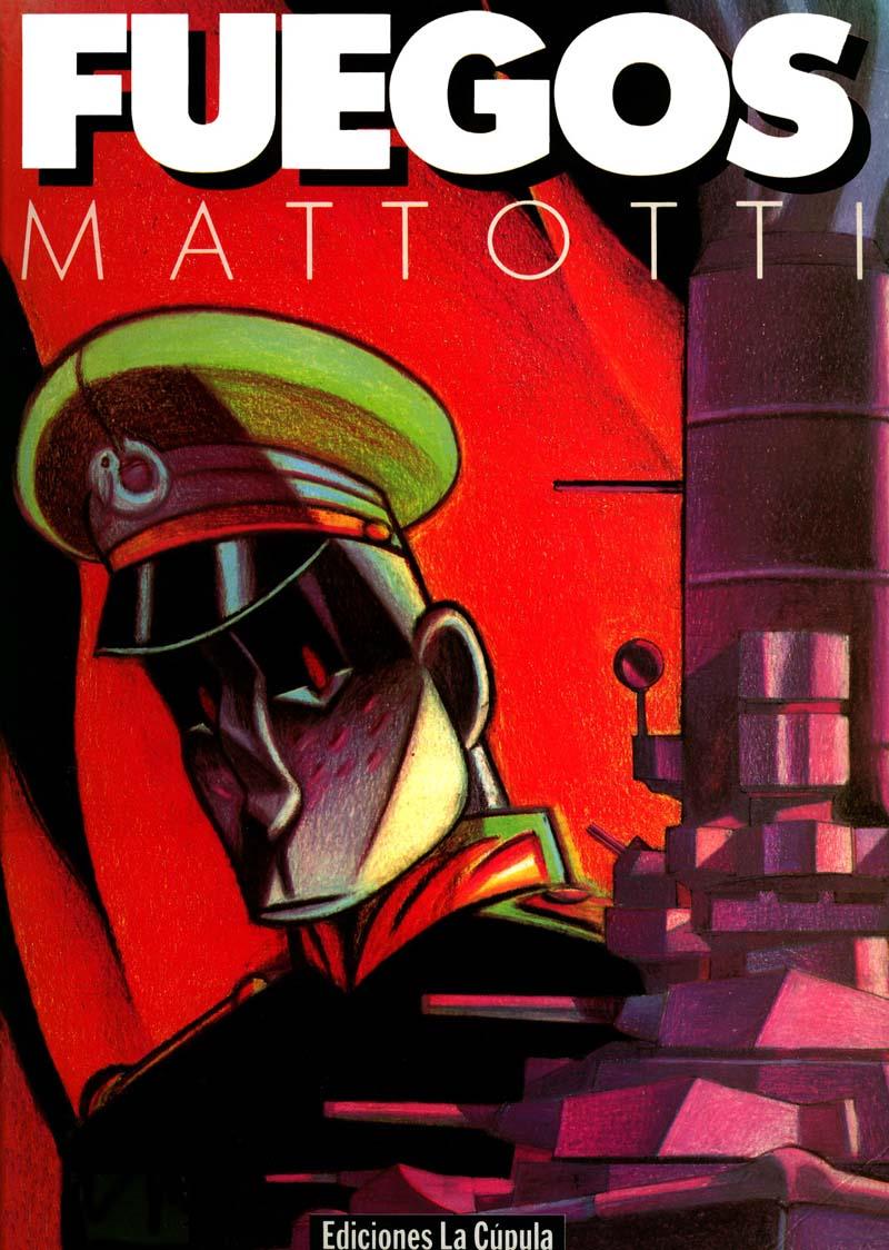 Portada del cómic Fuegos de Lorenzo Mattotti.