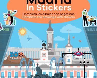 Libro Pegatinas Madrid